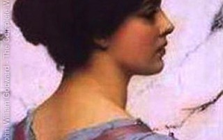 Belleza Pompeiana by John William Godward